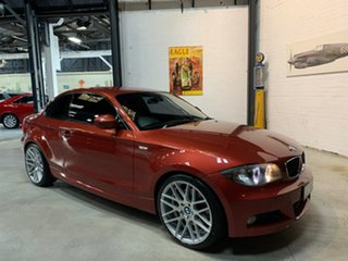 2010 BMW 1 Series E82 MY10 123d Steptronic Red 6 Speed Sports Automatic Coupe