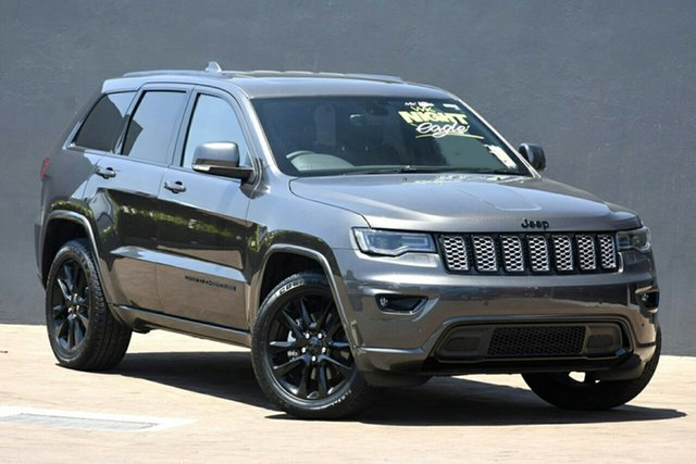 New Jeep Grand Cherokee WK MY20 Night Eagle Nunawading, 2020 Jeep Grand Cherokee WK MY20 Night Eagle Granite Crystal 8 Speed Sports Automatic Wagon