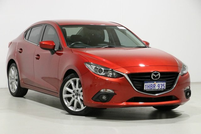 Demo Mazda 3 BM MY15 SP25, 2016 Mazda 3 BM MY15 SP25 Soul Red 6 Speed Automatic Sedan