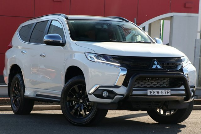 Used Mitsubishi Pajero Sport QE MY19 Black Edition, 2019 Mitsubishi Pajero Sport QE MY19 Black Edition White 8 Speed Sports Automatic Wagon