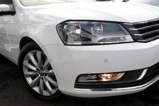 2014 Volkswagen Passat 118TSI White 7SPD DSG TRANS Wagon.