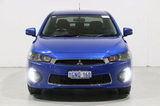 2017 Mitsubishi Lancer CF MY17 LS Blue 8 Speed CVT Auto 8 Speed Sedan.