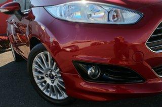 2017 Ford Fiesta WZ Sport PwrShift Red 6 Speed Sports Automatic Dual Clutch Hatchback.