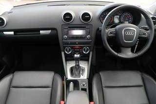 2011 Audi A3 8P MY11 TFSI Sportback S Tronic Ambition Silver 7 Speed Sports Automatic Dual Clutch