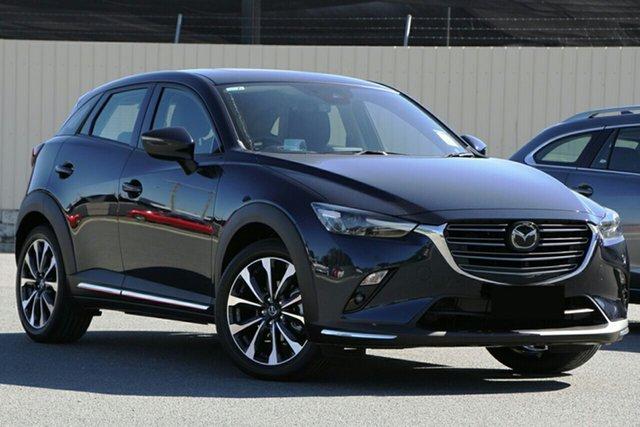 New Mazda CX-3 DK2W7A Akari SKYACTIV-Drive FWD Glendale, 2020 Mazda CX-3 DK2W7A Akari SKYACTIV-Drive FWD Deep Crystal Blue 6 Speed Sports Automatic Wagon