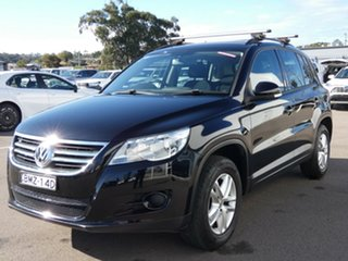 2009 Volkswagen Tiguan 5N MY10 125TSI 4MOTION Black 6 Speed Sports Automatic Wagon
