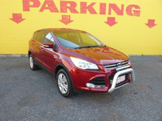 Used Ford Kuga  , 2015 Ford Kuga Red 5 Speed Automatic Wagon