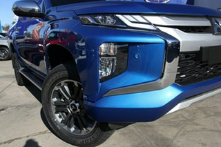 2020 Mitsubishi Triton MR MY21 GLS Double Cab Impulse Blue 6 Speed Sports Automatic Utility