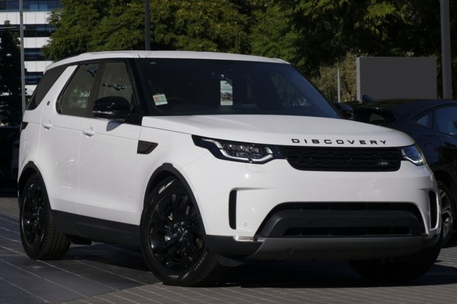 Demo Land Rover Discovery Series 5 L462 MY20 HSE Newstead, 2019 Land Rover Discovery Series 5 L462 MY20 HSE Fuji White 8 Speed Sports Automatic Wagon