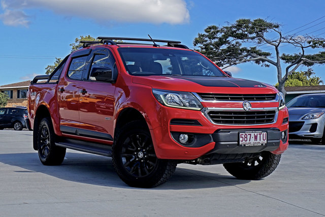 Used Holden Colorado RG MY16 Storm Crew Cab, 2016 Holden Colorado RG MY16 Storm Crew Cab Red 6 Speed Sports Automatic Utility