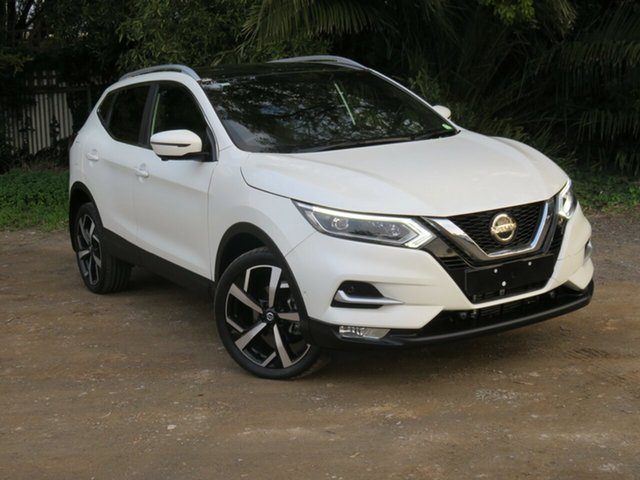 Used Nissan Qashqai J11 Series 2 Ti X-tronic, 2018 Nissan Qashqai J11 Series 2 Ti X-tronic White 1 Speed Constant Variable Wagon