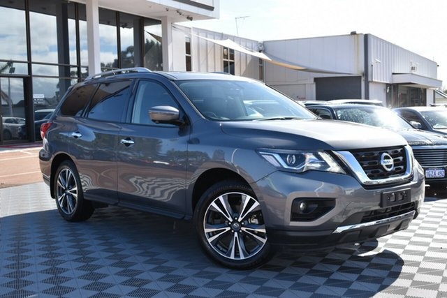 Used Nissan Pathfinder R52 Series III MY19 Ti X-tronic 2WD, 2019 Nissan Pathfinder R52 Series III MY19 Ti X-tronic 2WD Grey 1 Speed Constant Variable Wagon