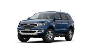 2020 Ford Everest UA II 2020.25MY Trend Deep Crystal Blue 6 Speed Sports Automatic SUV.