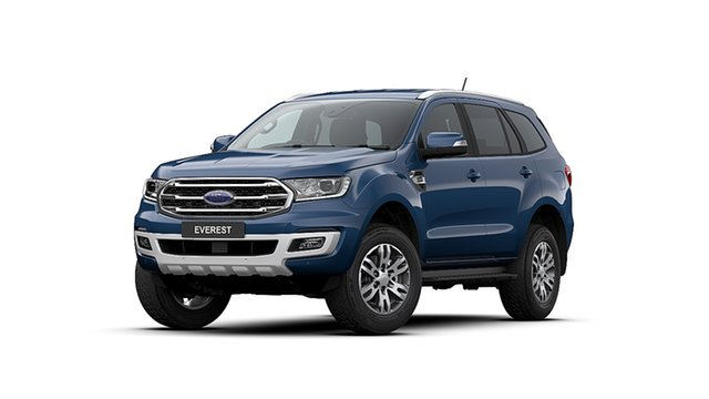 New Ford Everest UA II MY20.25 Trend (4WD 7 Seat), 2020 Ford Everest UA II MY20.25 Trend (4WD 7 Seat) Deep Crystal Blue 10 Speed Auto Seq Sportshift