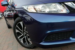 2015 Honda Civic 9th Gen Ser II MY15 VTi-S Blue 5 Speed Sports Automatic Sedan