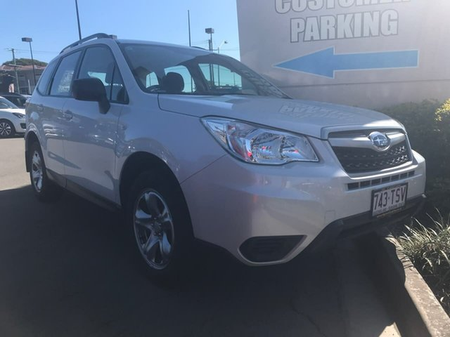 Used Subaru Forester S4 MY14 2.5i Lineartronic AWD, 2014 Subaru Forester S4 MY14 2.5i Lineartronic AWD White 6 Speed Wagon
