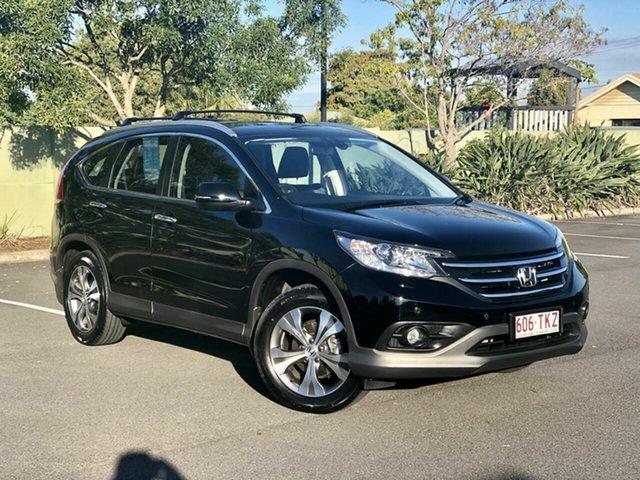 Used Honda CR-V RM MY14 VTi-L 4WD, 2013 Honda CR-V RM MY14 VTi-L 4WD Black 5 Speed Sports Automatic Wagon