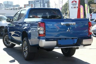2021 Mitsubishi Triton MR MY21 GLS Double Cab Impulse Blue 6 Speed Sports Automatic Utility.