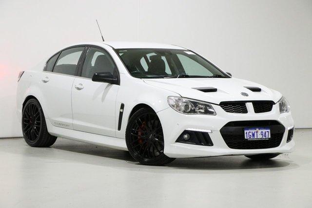 Demo Holden Special Vehicles ClubSport Gen F MY15 R8, 2014 Holden Special Vehicles ClubSport Gen F MY15 R8 White 6 Speed Manual Sedan