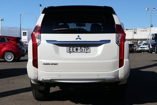 2019 Mitsubishi Pajero Sport QE MY19 Black Edition White 8 Speed Sports Automatic Wagon