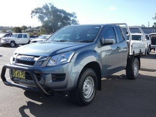2012 Isuzu D-MAX MY12 SX Space Cab Grey 5 Speed Manual Cab Chassis.