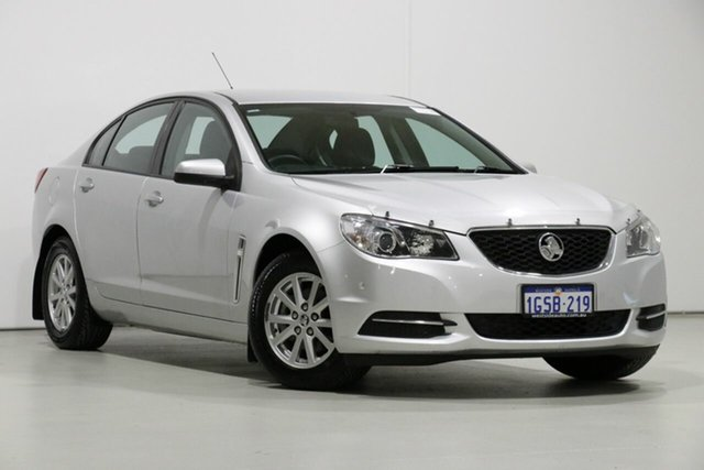 Used Holden Commodore VF MY15 Evoke, 2015 Holden Commodore VF MY15 Evoke Silver 6 Speed Automatic Sedan