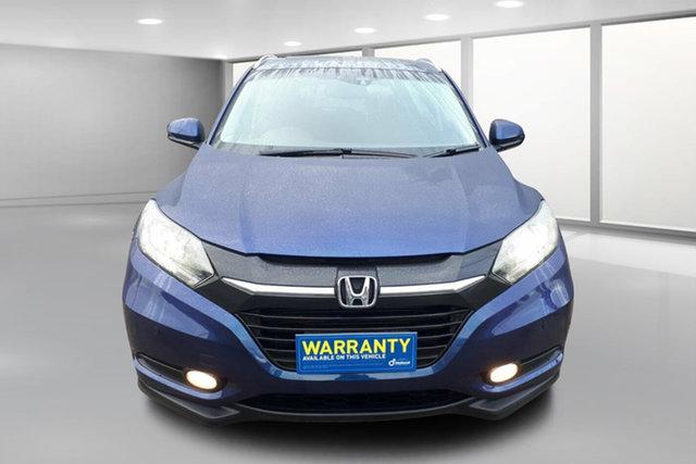 Used Honda HR-V MY17 VTi-L, 2018 Honda HR-V MY17 VTi-L Blue Mica Metallic 1 Speed Hatchback