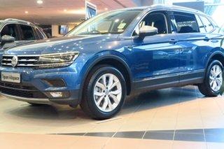 2020 Volkswagen Tiguan 5N MY20 132TSI Comfortline DSG 4MOTION Allspace Blue 7 Speed.