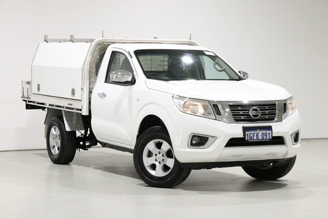 Used Nissan Navara NP300 D23 RX (4x2), 2015 Nissan Navara NP300 D23 RX (4x2) White 6 Speed Manual Cab Chassis
