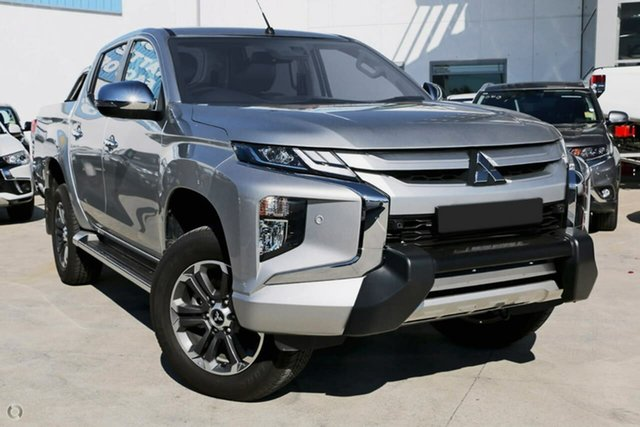 Demo Mitsubishi Triton MR MY19 GLS Double Cab Premium, 2019 Mitsubishi Triton MR MY19 GLS Double Cab Premium Silver 6 Speed Sports Automatic Utility