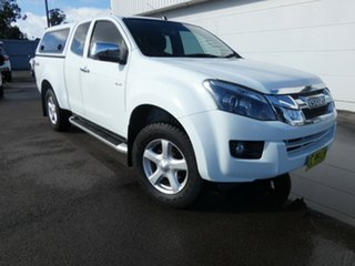 2015 Isuzu D-MAX MY15 LS-U Space Cab Splash White 5 Speed Sports Automatic Utility.