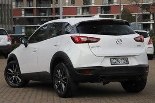 2015 Mazda CX-3 DK S Touring (FWD) White 6 Speed Automatic Wagon.