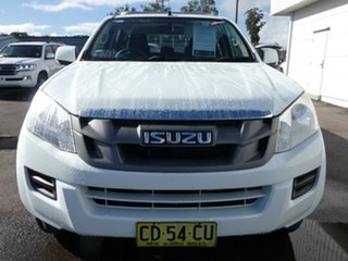2015 Isuzu D-MAX MY15 SX Crew Cab Splash White 5 Speed Manual Utility.