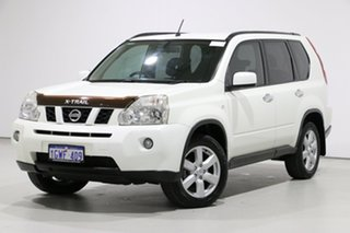 2010 Nissan X-Trail T31 MY11 TS (4x4) White 6 Speed Automatic Wagon.