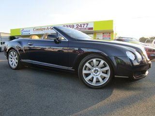 2007 Bentley Continental 3W GTC Blue 6 Speed Sports Automatic Convertible
