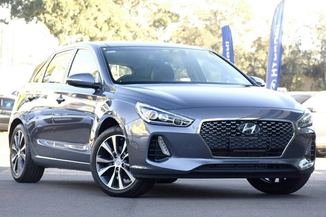 New Hyundai i30 PD2 MY20 Premium, 2019 Hyundai i30 PD2 MY20 Premium Iron Grey 6 Speed Sports Automatic Hatchback