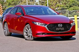 2019 Mazda 3 BP2SLA G25 SKYACTIV-Drive Astina Soul Red Crystal 6 Speed Sports Automatic Sedan.