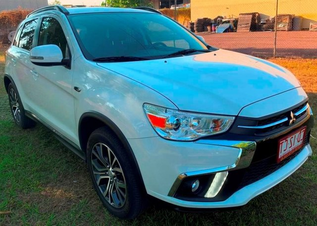 Used Mitsubishi ASX XC MY18 LS 2WD, 2018 Mitsubishi ASX XC MY18 LS 2WD White 1 Speed Constant Variable Wagon