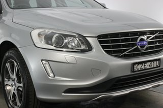 2015 Volvo XC60 DZ MY15 T5 Geartronic Luxury Silver 8 Speed Sports Automatic Wagon.