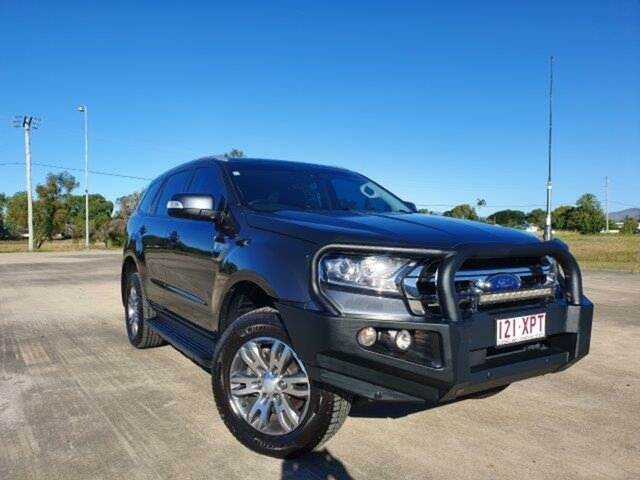 Used Ford Everest UA Trend 4WD, 2017 Ford Everest UA Trend 4WD Meteor Grey 6 Speed Sports Automatic Wagon