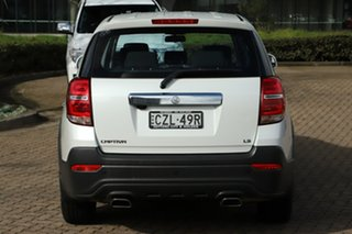 2014 Holden Captiva CG MY14 7 LS (FWD) White 6 Speed Automatic Wagon