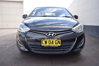 2012 Hyundai i20 PB MY13 Active Black 4 Speed Automatic Hatchback.