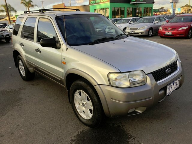 Used Ford Escape ZB XLT, 2004 Ford Escape ZB XLT Silver 4 Speed Automatic SUV