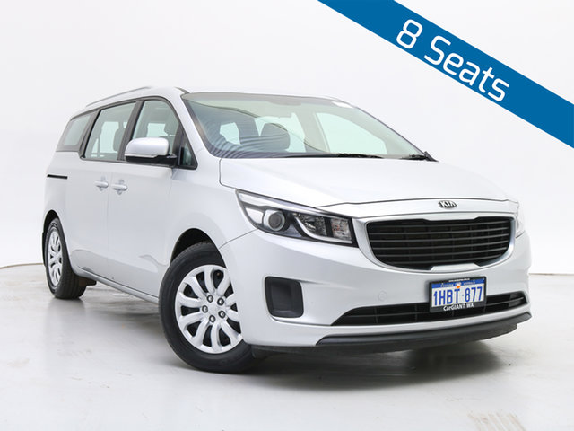 Used Kia Carnival YP MY18 S, 2017 Kia Carnival YP MY18 S Silver 6 Speed Automatic Wagon