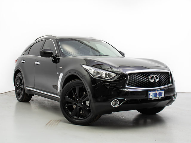 Used Infiniti QX70  3.7 GT, 2016 Infiniti QX70 3.7 GT Black 7 Speed Automatic Wagon