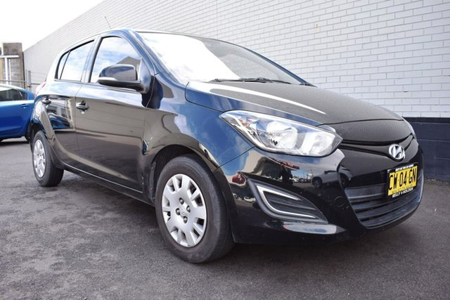 Used Hyundai i20 PB MY13 Active, 2012 Hyundai i20 PB MY13 Active Black 4 Speed Automatic Hatchback