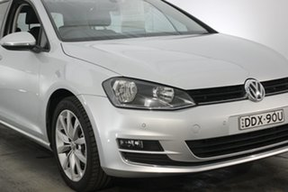 2015 Volkswagen Golf VII MY15 103TSI DSG Highline Silver 7 Speed Sports Automatic Dual Clutch.