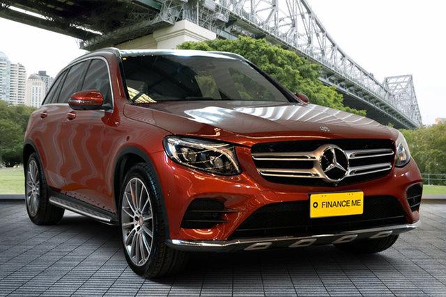 Used Mercedes-Benz GLC-Class X253 GLC220 d 9G-Tronic 4MATIC, 2015 Mercedes-Benz GLC-Class X253 GLC220 d 9G-Tronic 4MATIC Red 9 Speed Sports Automatic Wagon