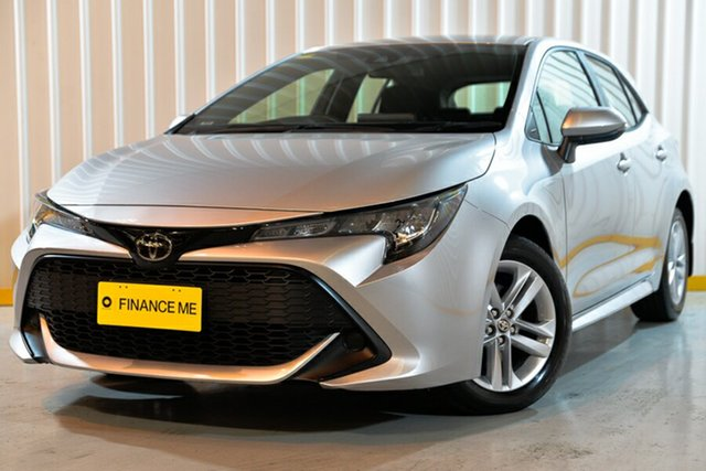 Used Toyota Corolla ZRE182R Ascent Sport S-CVT, 2018 Toyota Corolla ZRE182R Ascent Sport S-CVT Silver 7 Speed Constant Variable Hatchback