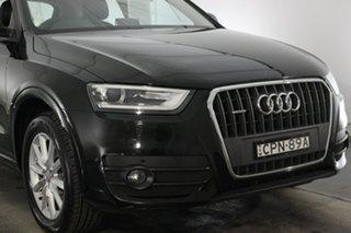 2013 Audi Q3 8U MY14 TFSI S Tronic Quattro Brilliant Black 7 Speed Sports Automatic Dual Clutch.